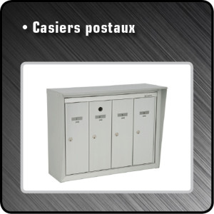 Casiers postaux